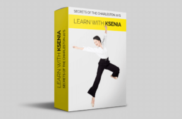 Ksenia's Secrets of Solo online dance course Secrets of the Charlestons 20s jump wideleg