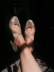 Ksenia's dance shoes - Jazzville 2