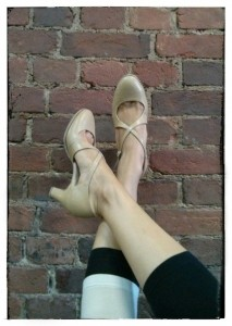 Ksenia's dance shoes - Jazzville