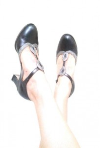 Ksenia's dance shoes - Medalion