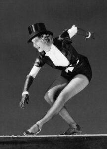 Eleanor Powell tap solo jazz dancer