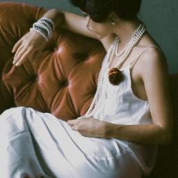 A photo of the artist Ksenia Parkhatskaya couch rose