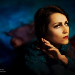 Ksenia Parkhatskaya solo jazz, swing, 20s charleston dancer, choreographer, singer Port