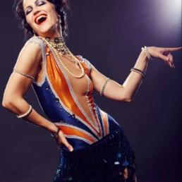 A photo of the artist Ksenia Parkhatskaya the Charleston