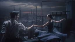 screenshot from the short film