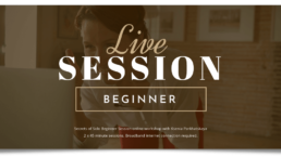 virtual product image for Secrets of Solo Live Session - Beginner