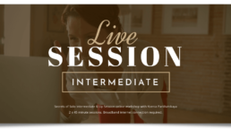 virtual product image for Secrets of Solo Live Session - Intermediate & Up