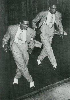 demonstration of important black dance culture representatives in America