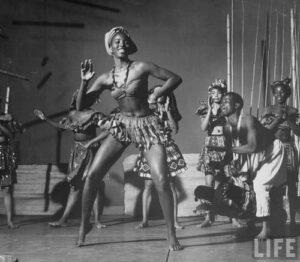 jazz danza nera Afro-Americana