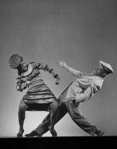 Kjatherine Dunham, a researcher that made a huge investment in black american culture and jazz dance steps