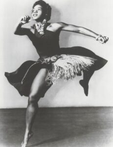 Pearl Primus vernacular african modern jazz dance