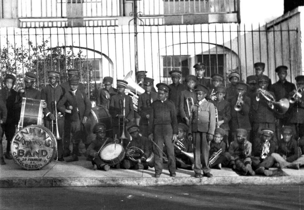 Jenkins Orphanage band, the history of The Charleston dance and step